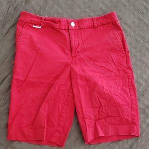 Summer Red Ralph Lauren Bermudas